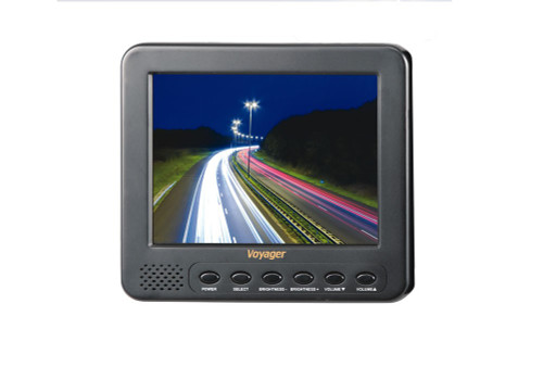 """Voyager 5.6"""" Rear View LCD Monitor with 2 Camera Inputs"""