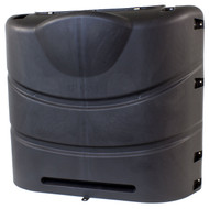 Camco RV Propane Tank Cover for 30lb Steel Tanks Black