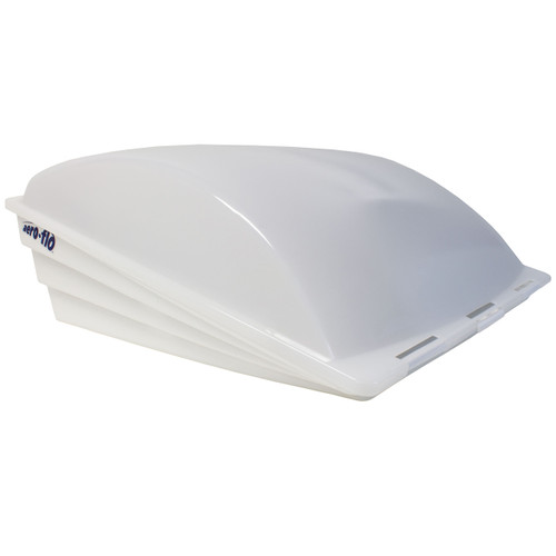 Camco Aero Flo Roof Vent Cover White Rv Parts Nation