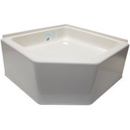 24 x 24 RV Corner Shower Pan