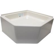 24 x 24 RV Corner Shower Pan
