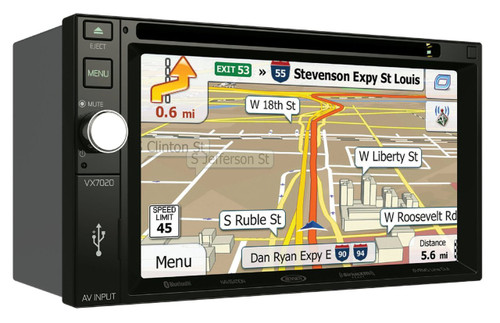 "Jensen Double DIN 6.2"" Touchscreen Radio with Bluetooth & Navigation"