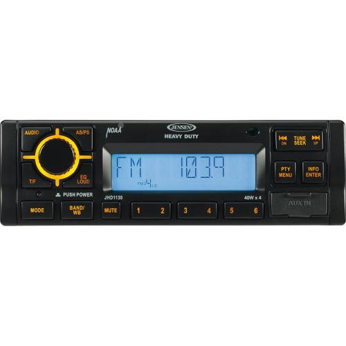 Jensen AM/FM/RBDS/WB Heavy Duty Radio