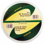 50 Ft Premium Vinyl Insert, White
