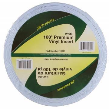 100 Ft Premium Vinyl Insert, White