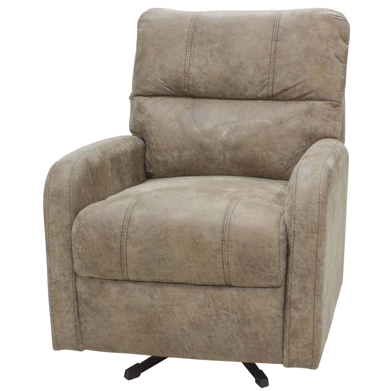 28 U0026quot  Smoked Tan Swivel Chair