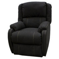 "29"" Dark Gray RV Swivel Recliner"