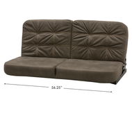 "RV Flip Sofa 56"" - Grey/Taupe"