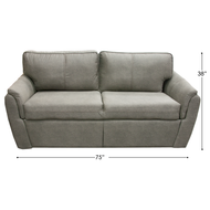 Light Grey RV Flip Sofa