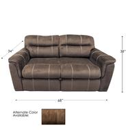 "Suede Mocha 68"" RV Sleeper Sofa"