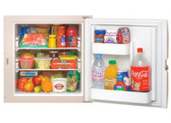 3-WAY RV REFRIGERATOR RIGHT HAND SINGLE DOOR 2.4 CUBIC FT STORAGE