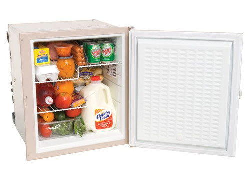 3 WAY RV REFRIGERATOR 1 RIGHT HAND DOOR 1.7 CUBIC FT OF STORAGE BUILT-IN MOUNTING FLANGE