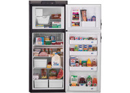 Dometic RV Refrigerator DM2852LB Refrigerator / Freezer 2‑Way ‑ 8 Cu. ft. Right Hand Double Door