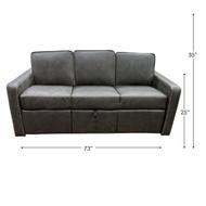 """73"""" RV Sleeper Sofa"""