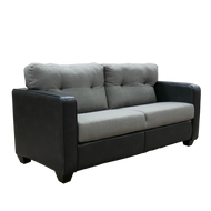 "RV 64.5"" Two Toned Grey Jacknife Flip Sofa"