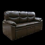 "RV 77"" Brown Trifold Sofa"