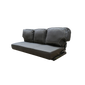 """63"""" RV Brown Flip Sofa Sleeper Sofa"""