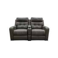"RV 62"" Dual Recliners  with Cup Holders"