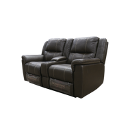 "Thomas Payne 67"" Dual Recliner with Storage and Cup Holder"