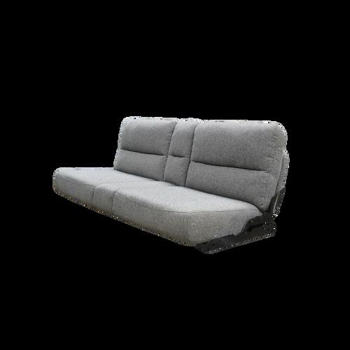 60 Inch RV Flip Sofa Sleeper Silver