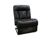 "29"" RV Armless Recliner In Merlot"