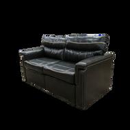 "65"" RV Tri-Fold Sleeper Sofa In Walnut"