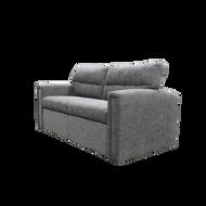 "71"" Tri-Fold Sleeper Sofa In Silver Birch"
