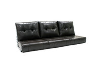 "66"" RV Flip Sofa In Chocolate Brown"