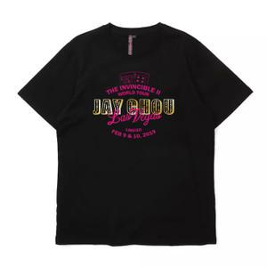 Jay Chou T-Shirt 地表最強-地表系列- 拉斯維加斯限量版