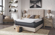 12 Inch Chime Elite White/Blue King Mattress