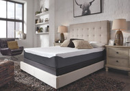 10 Inch Chime Elite White/Blue Queen Mattress
