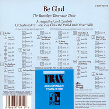 Be Glad (Split Track CD)