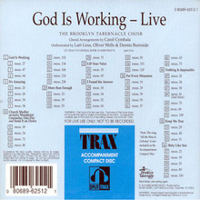 God Is Working (Split Track CD)