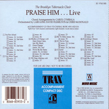 Praise Him Live (Split Track CD)