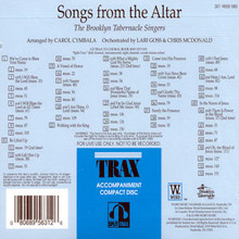 Songs From The Altar (Split Track CD)