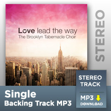 Take Me As I Am (Stereo Track MP3)
