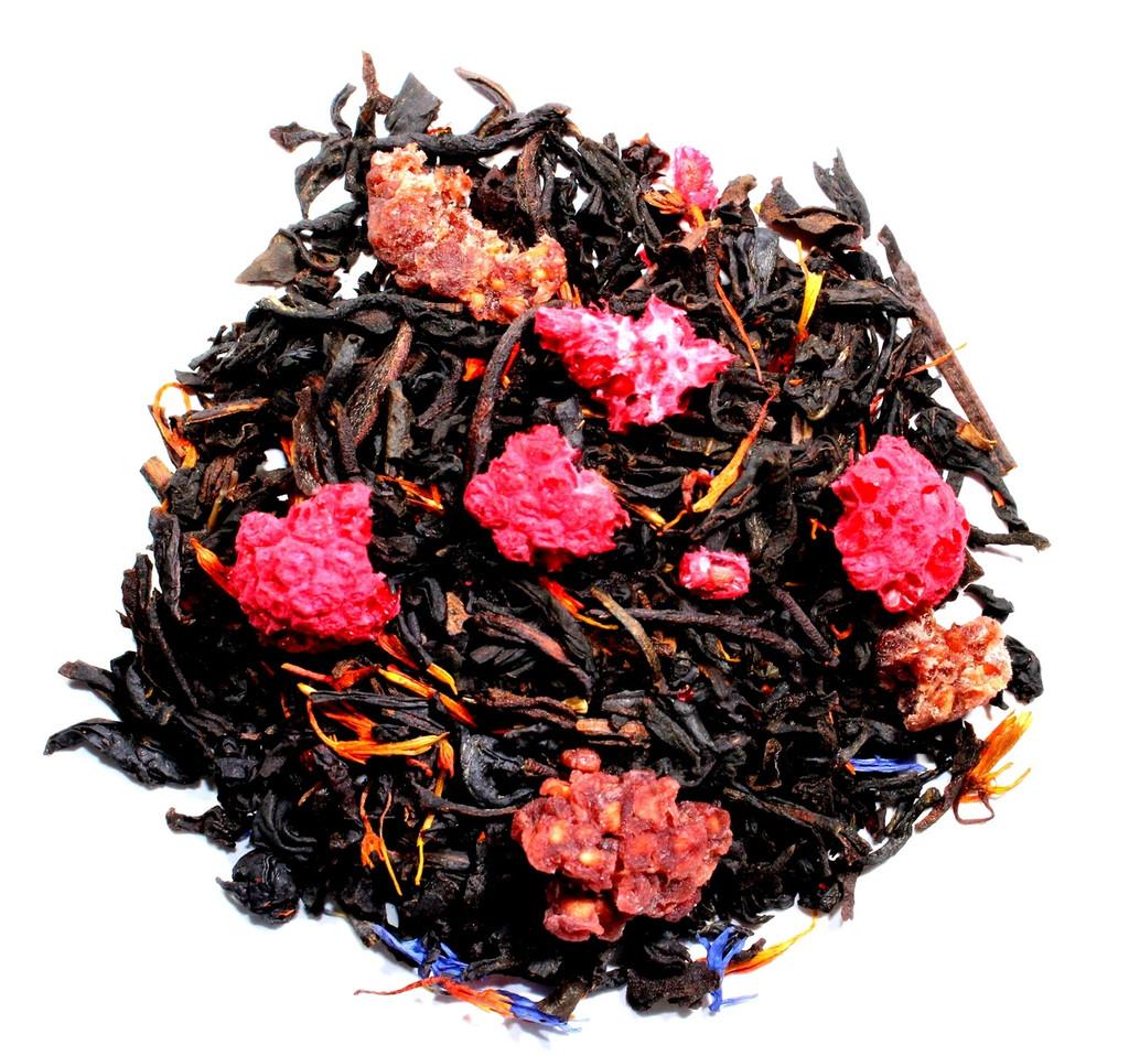 Raspberry Earl Grey loose leaf tea
