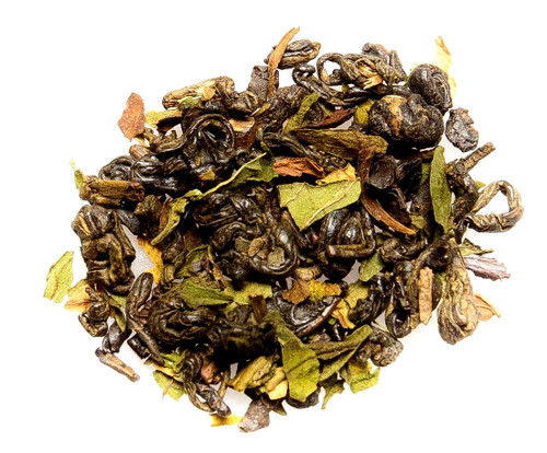 Gunpowder Mint Green Loose Leaf Tea