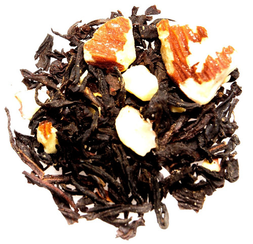 vanilla almond black loose leaf tea