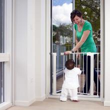 BabyDan Premier Pressure Indicator Safety Gate - White (73.5 - 79.6cm; Max 119.3)