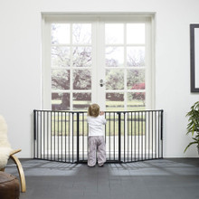 BabyDan Configure / Flex L Gate in living room