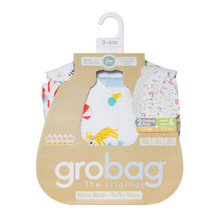 "The Gro Company""Roll Up"" Wash & Wear 1 tog Grobag Twin Pk"