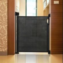 Safetots Advanced Retractable Safety Gate Black