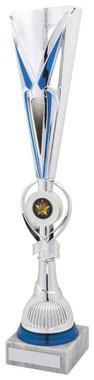 "Blue/Silver Sculpture Award - TW18-044-765A - 42cm (16 1/2"")"