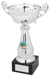 "Silver Trophy Cup - TW18-052-268A - 26cm (10 1/4"")"