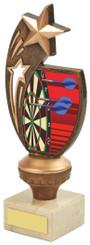 "Antique Gold Darts Star Award - TW18-075-783C - 17cm (6 3/4"")"