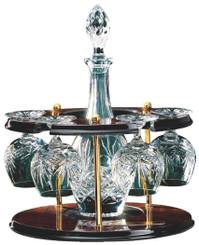 """Jade Glass Netball Award - TW18-86-422ZDP - 14cm (5 1/2"""")"""