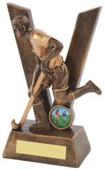"""'V' for Victory Men's Hockey Award - TW18-085-RS505 - 19cm (7 1/2"""")"""