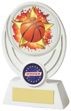 "Basketball Award - TW18-082-587ZBP - 11cm (4 1/4"")"