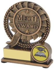 """Gold Resin Merit Award - TW18-112-RS249 - 10cm (4"""")"""
